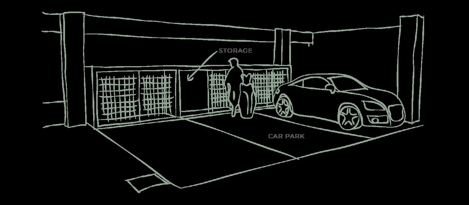 AETAS Damansara @ Tropicana - Presidential, Suite, Living Car Park