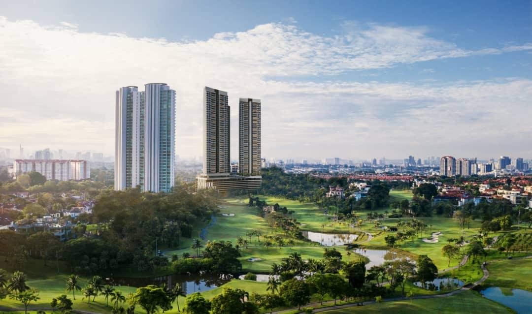 AETAS Damansara @ Tropicana - Presidential, Suite, Living Overview